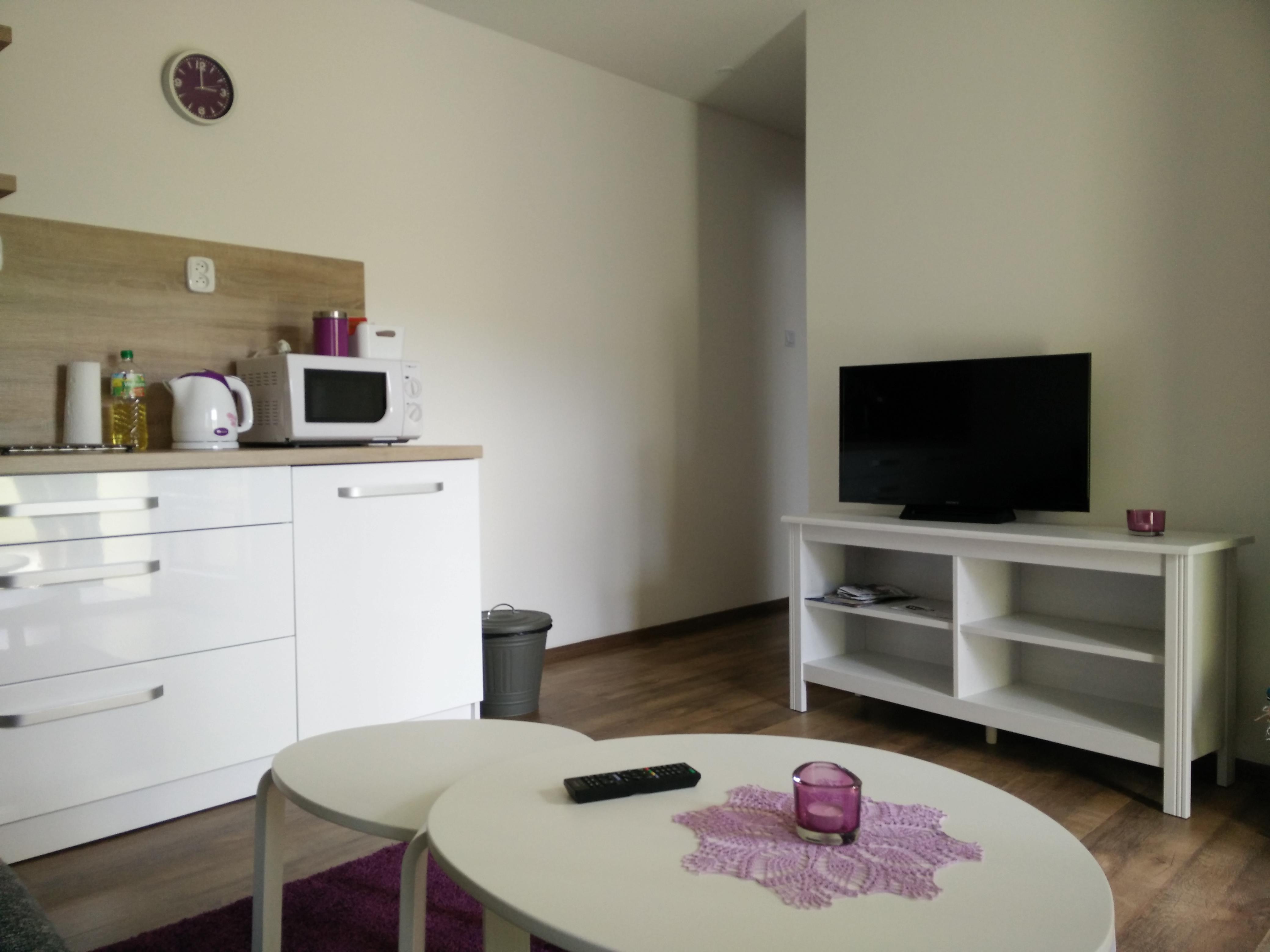 Apartmán 1 TV